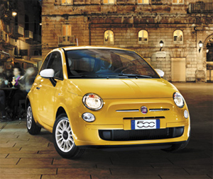 Fiat 500 semi-automatic from £49 per week