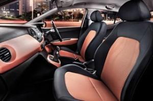 Hyundai i10 motability car interior