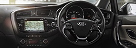 Kia Ceed motability car interior