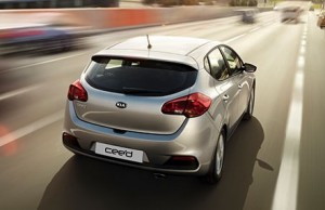 Kia Ceed motability car rear