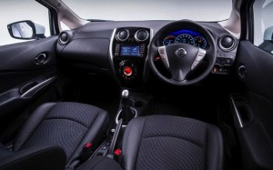 Nissan Note motability car interior