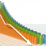 downwards graph