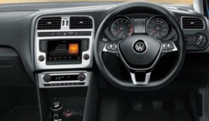 Volkswagen Polo motability car 2014 dash