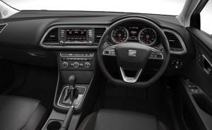 Seat Leon Motability car interior