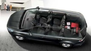 Ford Galaxy Motability car cut away