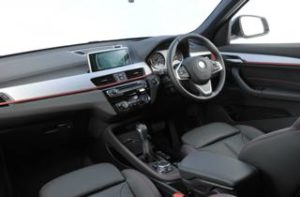BMW X1 Motability Car Dashboard