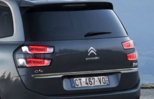 Citroen C4 Grand Picasso Motability car rear