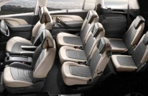Citroen C4 Grand Picasso Motability car seats