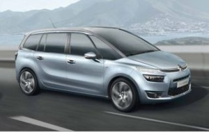 New Citroen C4 Grand Picasso