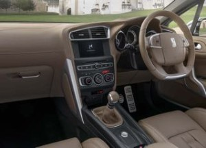 DS DS4 Motability car interior
