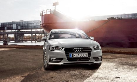 Audi A3 Motability car front