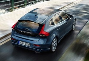Volvo V40 motability car rear