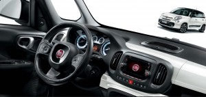Fiat 500L motability car dashboard