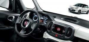 Fiat 500L motability car dashboard