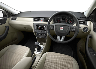 Seat Toledo Motability car interior