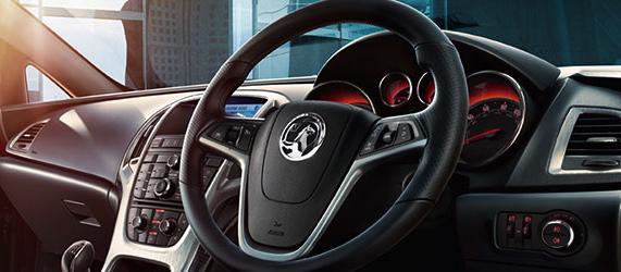 Vauxhall Astra GTC motability car interior