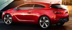 Vauxhall Astra GTC motability car side