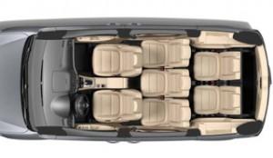 Volkswagen Sharan Motability car overhead