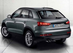 S-line and Automatic Q3 still available to order from Audi