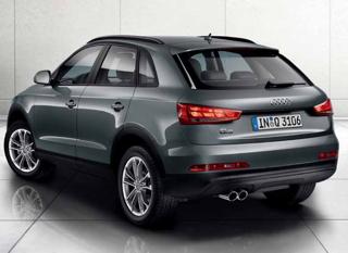 Audi Q3 motability car rear