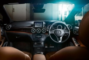 Mercedes B-Class motability car interior