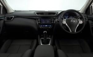 Nissan Qashqai 2014 Motability car dash