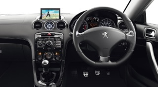 Peugeot RCZ Motability car Interior