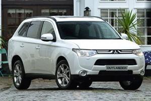 Mitsubishi Outlander 4 wheel drive