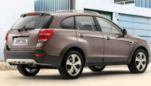 Chevrolet Captiva from £1999
