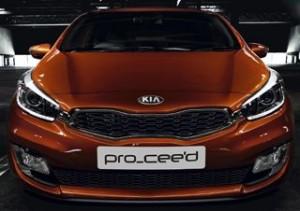 Kia Pro Ceed Motability car front