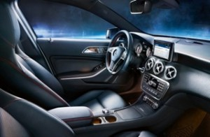 Mercedes A-Class Motability car interior