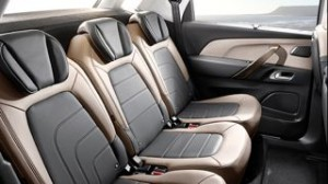 Citroen Picasso Motability car rear seats