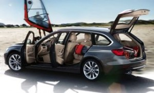 BMW 3 Series Touring motability car open