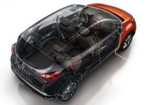 Renault Captur Motability car cut away