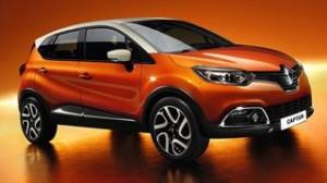 Renault Captur Motability car front