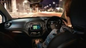Renault Captur Motability car interior