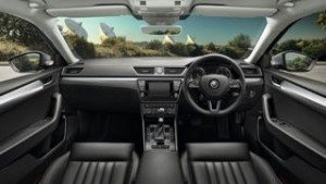 Skoda Superb Motability Car dash