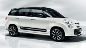 Fiat 500L MPW Motability Car white