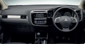 Mitsubishi Outlander Motability car dash