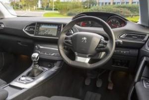 Peugeot 308 Motability car dash