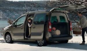 Peugeot Partner Tepee Motability car side