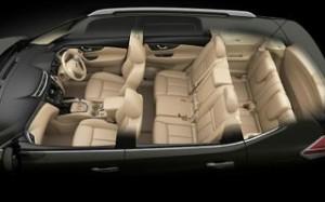 Nissan X-Trail 2014 motability car seven seats