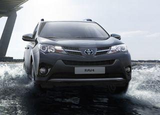 Toyota Rav4 Motability car front