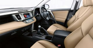 Toyota Rav4 Motability car inside