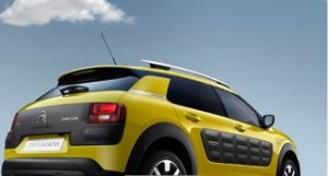 Citroen C4 Cactus Motability car rear