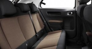 Citroen C4 Cactus Motability car rear seats