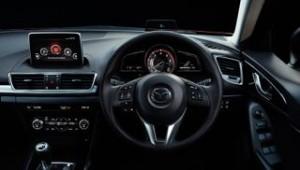 Mazda 3 Motability car interior