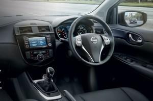 Nissan Pulsar motability car dashboard
