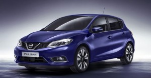Nissan Pulsar motability car side