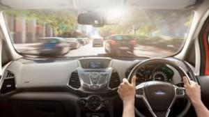 Ford Ecosport motability car interior